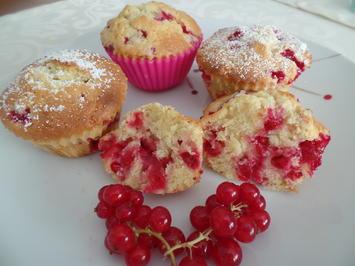 Johannisbeer-Muffins - Rezept - Bild Nr. 10649