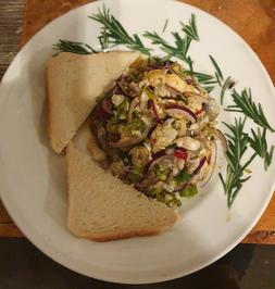 Ceviche von der fangfrischen (bayerischen) Garnele mit Languste aufgepeppt - Rezept - Bild Nr. 3