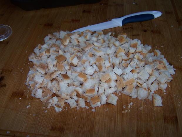 Croutons aus Rest - Rezept - Bild Nr. 4