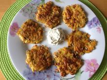 Rösti - aus Kartoffeln und Möhren - Rezept - Bild Nr. 2