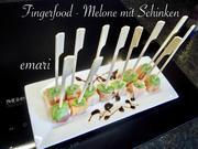 Fingerfood - Melone mit Schinken - Rezept - Bild Nr. 2