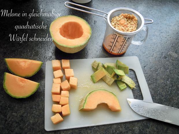 Fingerfood - Melone mit Schinken - Rezept - Bild Nr. 5