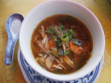 Shanghaier Suppe zur Marktzeit - Rezept - Bild Nr. 2
