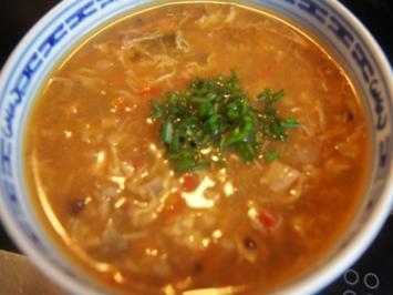Asiatische scharf-saure Suppe - Rezept - Bild Nr. 2