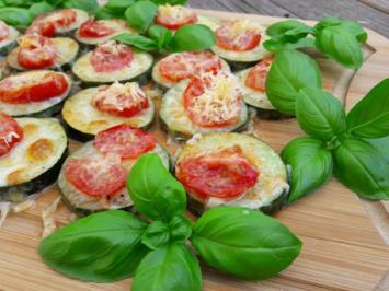 Rezept: Zucchini überbacken