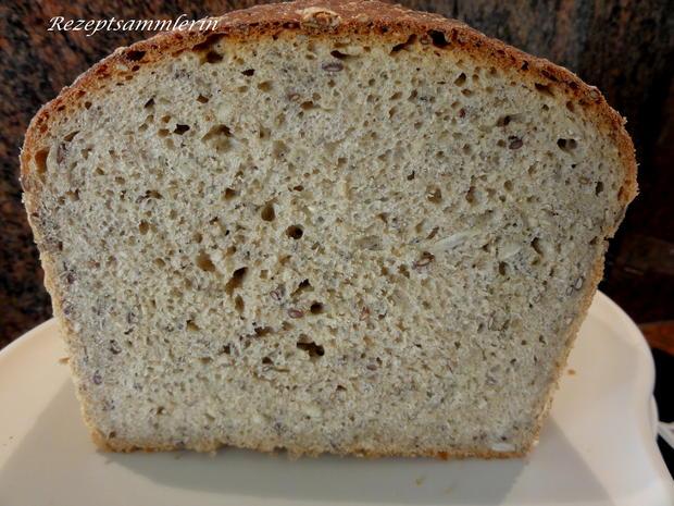 Brot:   ROGGENMISCH mit SAATEN - Rezept - Bild Nr. 5