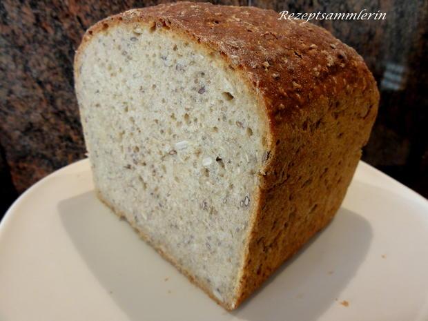 Brot:   ROGGENMISCH mit SAATEN - Rezept - Bild Nr. 4