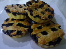 Mini Blueberry-Pie's - Rezept - Bild Nr. 2