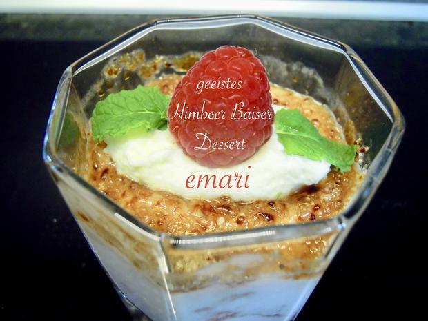 geeistes crunchy Himbeer Baiser Dessert - Kochbar Challange 7.0 - Juli 2020 - Rezept - Bild Nr. 7