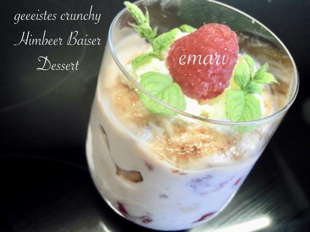 geeistes crunchy Himbeer Baiser Dessert - Kochbar Challange 7.0 - Juli 2020 - Rezept - Bild Nr. 27