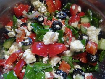 Bunter Feta-Salat - Rezept - Bild Nr. 2