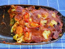 Italienischer Nudelauflauf mit Gemüse und Tomatensauce - Rezept - Bild Nr. 2