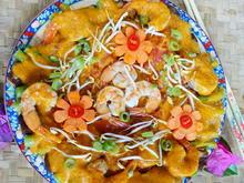 Gelbes Thaicurry mit Garnelen und Tomaten - Rezept - Bild Nr. 2
