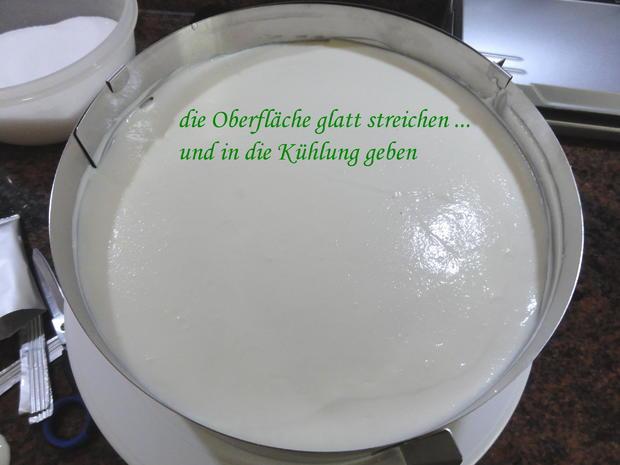Biskuit:   JOGHURT ~ SAHNE ~ TORTE (24cm) - Rezept - Bild Nr. 10