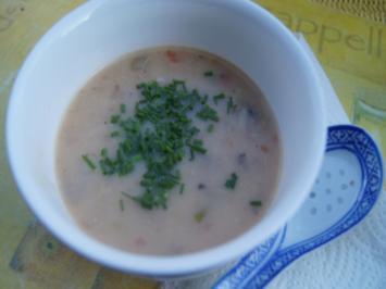 Hühnersuppe mit Kokosmilch und Champignons - Rezept - Bild Nr. 2