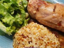 G e f l ü g e l - S o s s e - Blumenkohlreis - Salat - Rezept - Bild Nr. 2