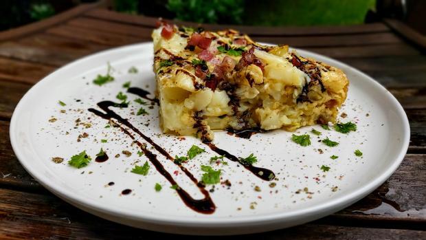 Meine Kartoffel - Speck - Tortilla - Rezept - Bild Nr. 2