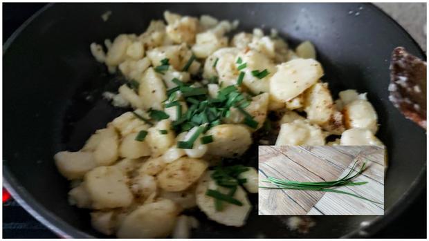 Meine Kartoffel - Speck - Tortilla - Rezept - Bild Nr. 11