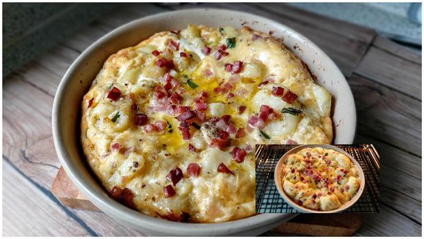 Meine Kartoffel - Speck - Tortilla - Rezept - Bild Nr. 16