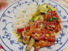 Paprika-Zucchini-Gemüse - Rezept - Bild Nr. 2