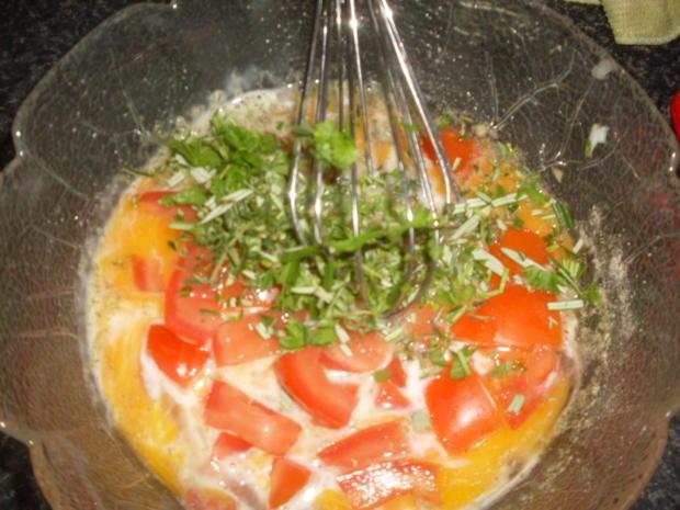 Reisfleisch mit Tomaten-Rührei und Wassermelone ! - Rezept - Bild Nr. 4