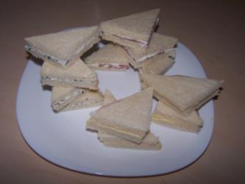 Rezept: Mini-Sandwiches