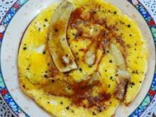 Frühstücksomelette mit Banane und Dattelhonig - Rezept - Bild Nr. 2