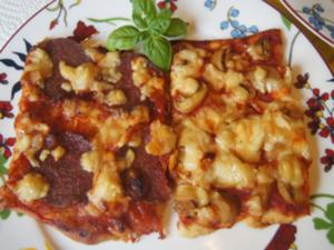Pizza-Duo - Rezept - Bild Nr. 2