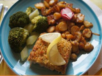 Schlemmer Filet à la Bordelaise mit Brokkoli und deftigen Bratkartoffeln - Rezept - Bild Nr. 2