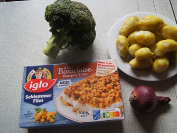Schlemmer Filet à la Bordelaise mit Brokkoli und deftigen Bratkartoffeln - Rezept - Bild Nr. 3