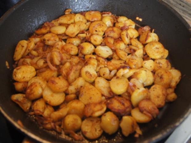 Schlemmer Filet à la Bordelaise mit Brokkoli und deftigen Bratkartoffeln - Rezept - Bild Nr. 15