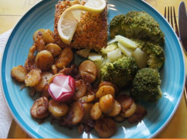 Schlemmer Filet à la Bordelaise mit Brokkoli und deftigen Bratkartoffeln - Rezept - Bild Nr. 16