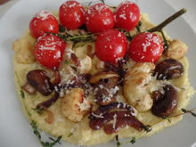 Polenta mit gebratenem Gemüse - Rezept - Bild Nr. 10799