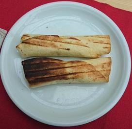 Quesadillas mit Grünkohl-Ziegenfrischkäsefüllung BBQ - Rezept - Bild Nr. 2