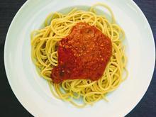 Sommerliche Pasta mit Tomaten-Basilikum Sosse - Rezept - Bild Nr. 2