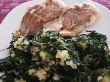 Fischfilet mit Spinat-Kartoffel-Stampf - Rezept - Bild Nr. 2