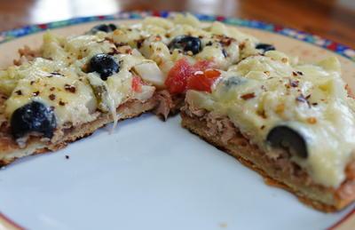 Rezept: Saftig-würzige Pfannenpizza