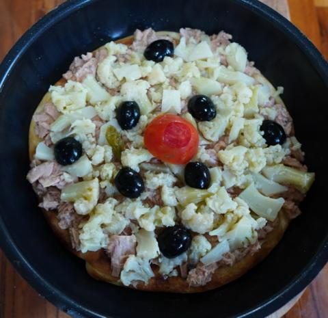 Saftig-würzige Pfannenpizza - Rezept - Bild Nr. 4