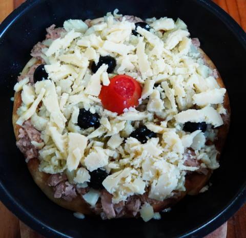 Saftig-würzige Pfannenpizza - Rezept - Bild Nr. 5