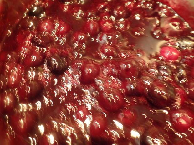 Bayrische Creme mit Heidelbeerkompott - Rezept - Bild Nr. 10882