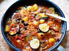 Kalbsragout mit Zucchini – Spezzatino con zucchine - Rezept - Bild Nr. 2