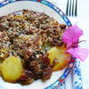 Italienischer Kartoffel-Pilzauflauf – Tortiera di patate e funghi - Rezept - Bild Nr. 2
