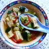 Kantonesische Gemüsesuppe mit Rührei - Rezept - Bild Nr. 2