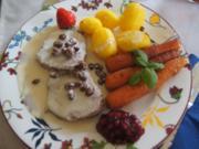 Tafelspitz mit Meerrettichsauce, Honig-Karotten und Drillingen - Rezept - Bild Nr. 2