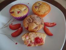 Zwetschgen -Muffins - Rezept - Bild Nr. 10904