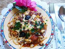 Italienischer Nudelauflauf mit Auberginen und Tomaten - Rezept - Bild Nr. 2
