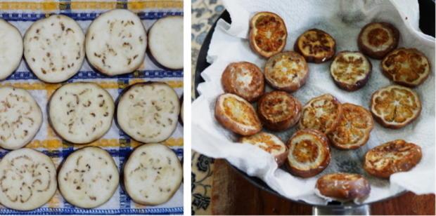 Italienischer Nudelauflauf mit Auberginen und Tomaten - Rezept - Bild Nr. 4