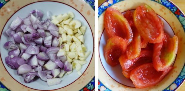 Italienischer Nudelauflauf mit Auberginen und Tomaten - Rezept - Bild Nr. 5
