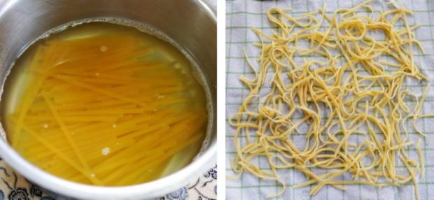 Italienischer Nudelauflauf mit Auberginen und Tomaten - Rezept - Bild Nr. 7