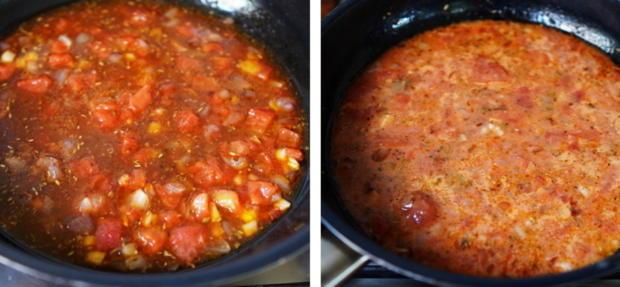 Italienischer Nudelauflauf mit Auberginen und Tomaten - Rezept - Bild Nr. 8
